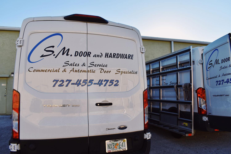 sm door quality and professionalism